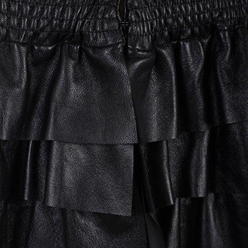 Elisabetta Franchi Mujer GD6352524110 Negro Cuero Cazadora