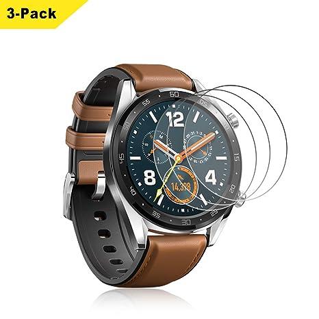 SPGuard pour Protecteur décran Huawei Watch GT [3 Paquet],Protection d