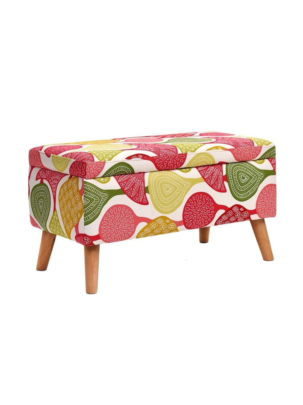 Flower Storage stool ZH STOOLS Sofa Stool, Solid Wood Small Bench Handmade Cotton Linen Multifunction Ergonomics Change shoes Stool for Living Room Entrance (color   Lattice, Size   Storage Stool)