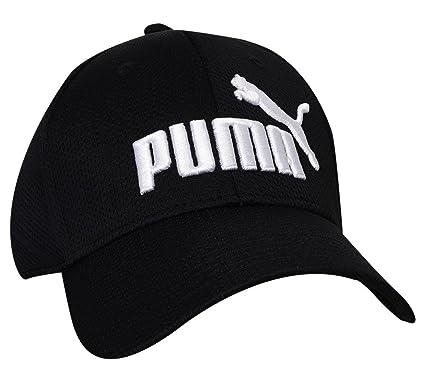 new products 0a1bc 0e9d4 PUMA- Evercat Luke Stretch Fit Hat Black Size Small Medium