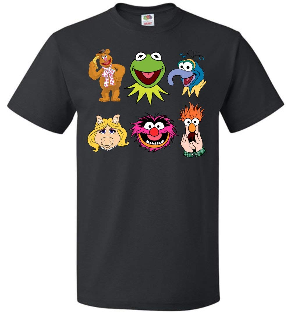 The Muppets Animals Face For Girls Shirts