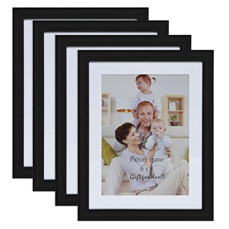 Amazon Giftgarden 6x8 Inch Wall Hanging Picture Frame For Home