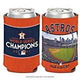 WinCraft Houston Astros 2017 World Series Champions Koozie 12oz Logo Can Cooler