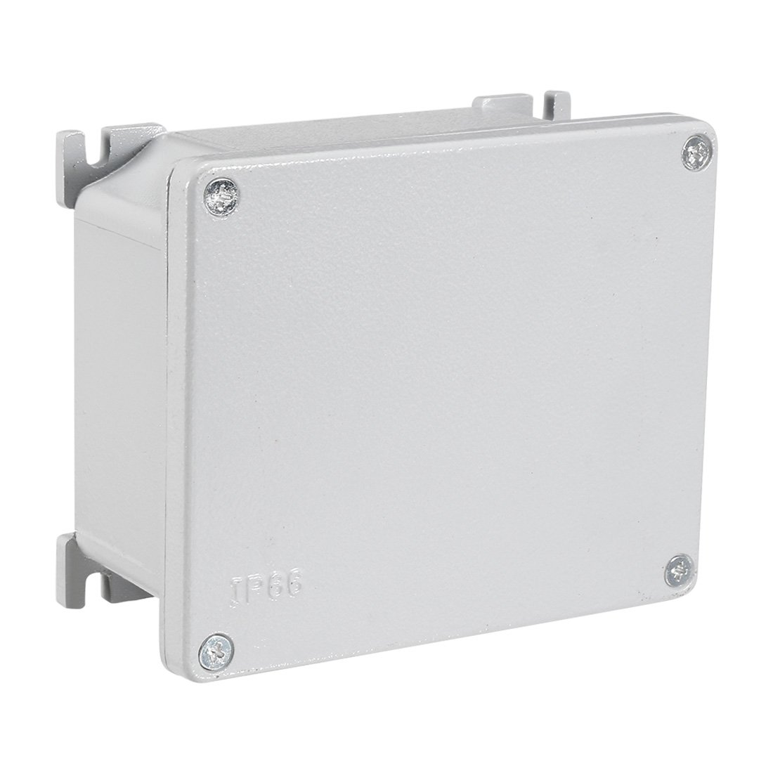 uxcell 5.5''x4.3''x2.3''(140mmx110mmx60mm) Aluminum Junction Boxes Electrical Project Metal Enclosure Waterproof IP65, Abrasion Resistant, Good Heat Dissipation for Outdoor