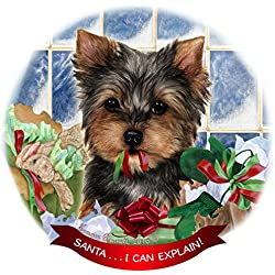Yorkshire Terrier Christmas Ornaments Great Gifts For Dog Lovers