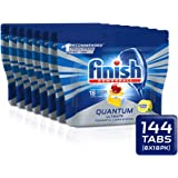 Finish Quantum Ultimate Lemon Dishwasher Tablets, 144 tablets (8x18)
