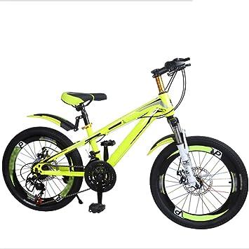 Axdwfd Infantiles Bicicletas Bicicletas para niños Rueda de Entrenamiento para Bicicletas 20 Pulgadas Niños y niñas