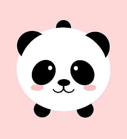 Amazon Com Shinobi Stickers Happy Cute Smiling Panda Bear Cartoon Emoji Vinyl Sticker 8 Wide Automotive