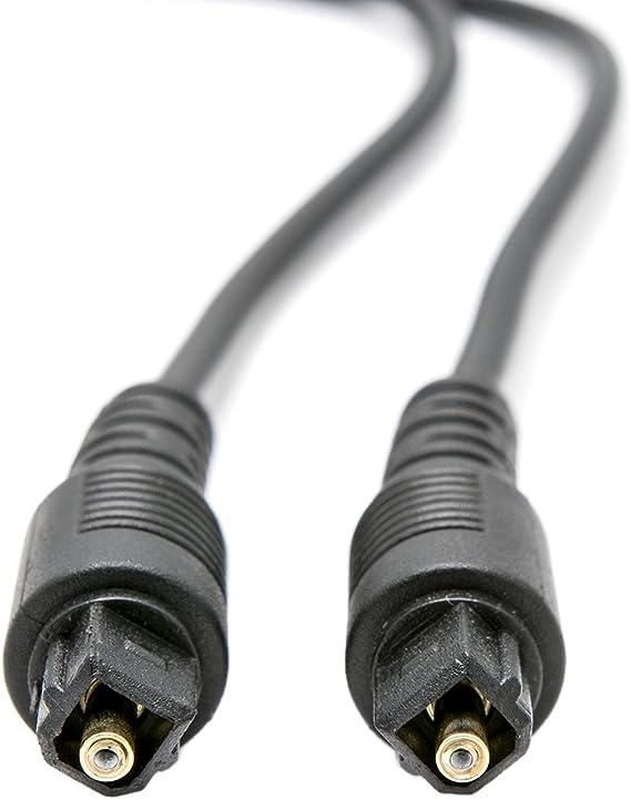 Ottico Audio Digitale, Connettore TOSLINK Maschio  Connettore TOSLINK Maschio, Dolby Digital Sound, DTS, Playstation KabelDirekt 5m Cavo TOSLINK, PRO Series