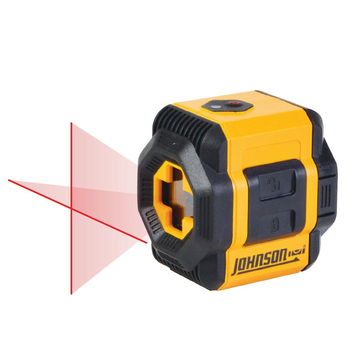 Johnson Level & Tool 40-6603 Self-Leveling Cross-Line Laser Level with Plumb and Level Layout Lines by Johnson Level & Tool (Image #2)