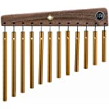 Meinl Percussion CH12 Gold Anodized Aluminum Alloy Single Row Chimes, 12 Bars
