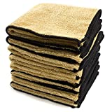 leather cleaner for clothes - Zwipes Auto 891-4 Microfiber Leather Care and Vinyl Cloth, 8-Pack
