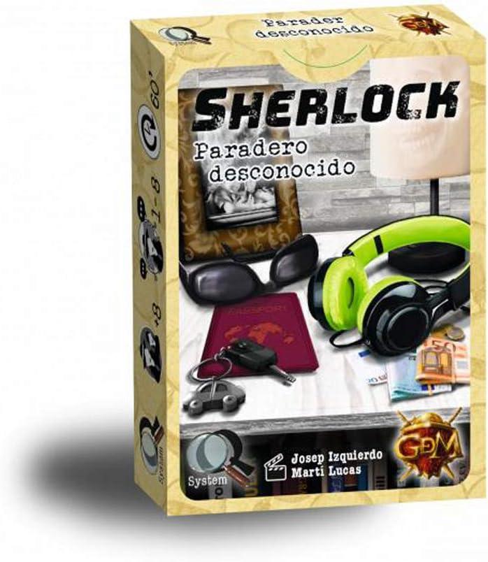 GDM Games- Sherlock: paradero Desconocido, Color Amarillo (GDM32 ...