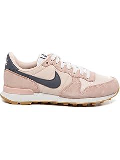 Nike WMNS Internationalist, Chaussures de Sport Femme - Multicolore (Blchd LLC/Smmt WHT-Gm MD BRWN), 36.5
