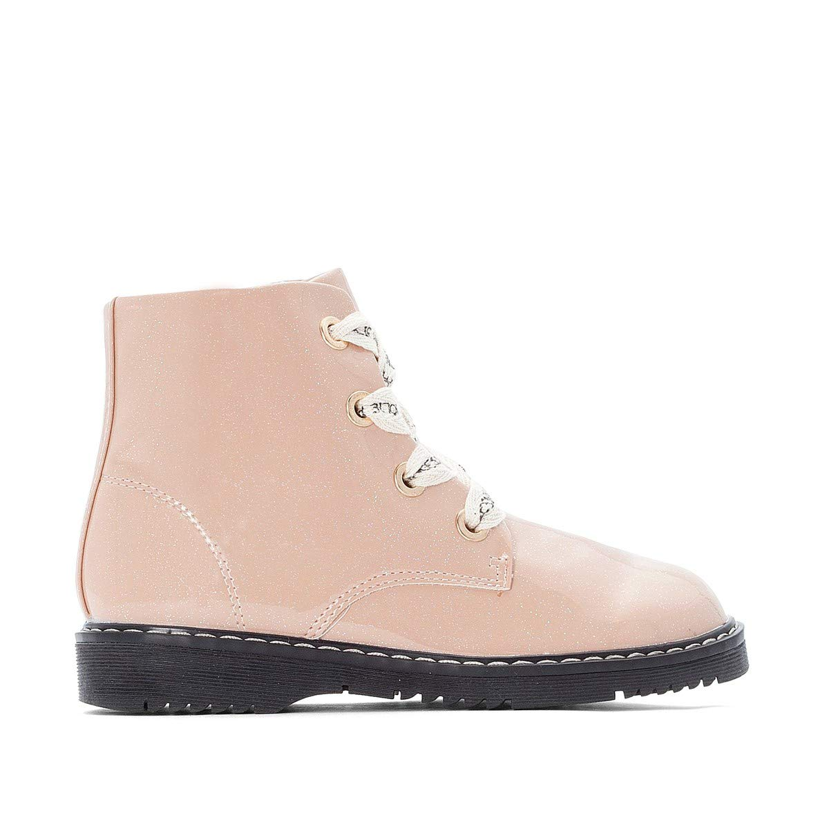 La Redoute Collections Big Girls Patent Ankle Boots Other Size 34