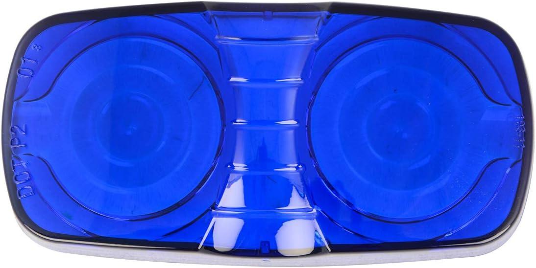 Blue Plastic Lens for Tiger Eye Grand General 80214 Marker Light