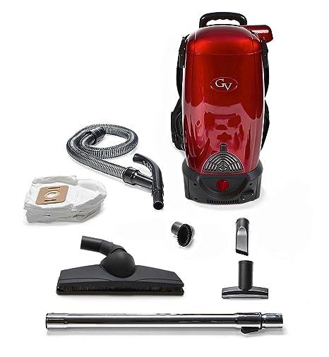 GV Aspirador dorsal de 8 Quart Un kit de herramientas y 6 piezas La batería Li