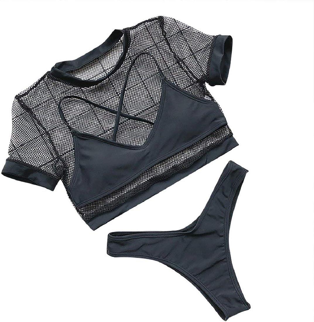 DEELIN Trajes de baño para Mujeres Bikini Trikini Ropa de baño ...