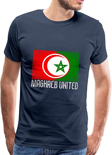 Maghreb United Algérie Tunisie Maroc T-Shirt