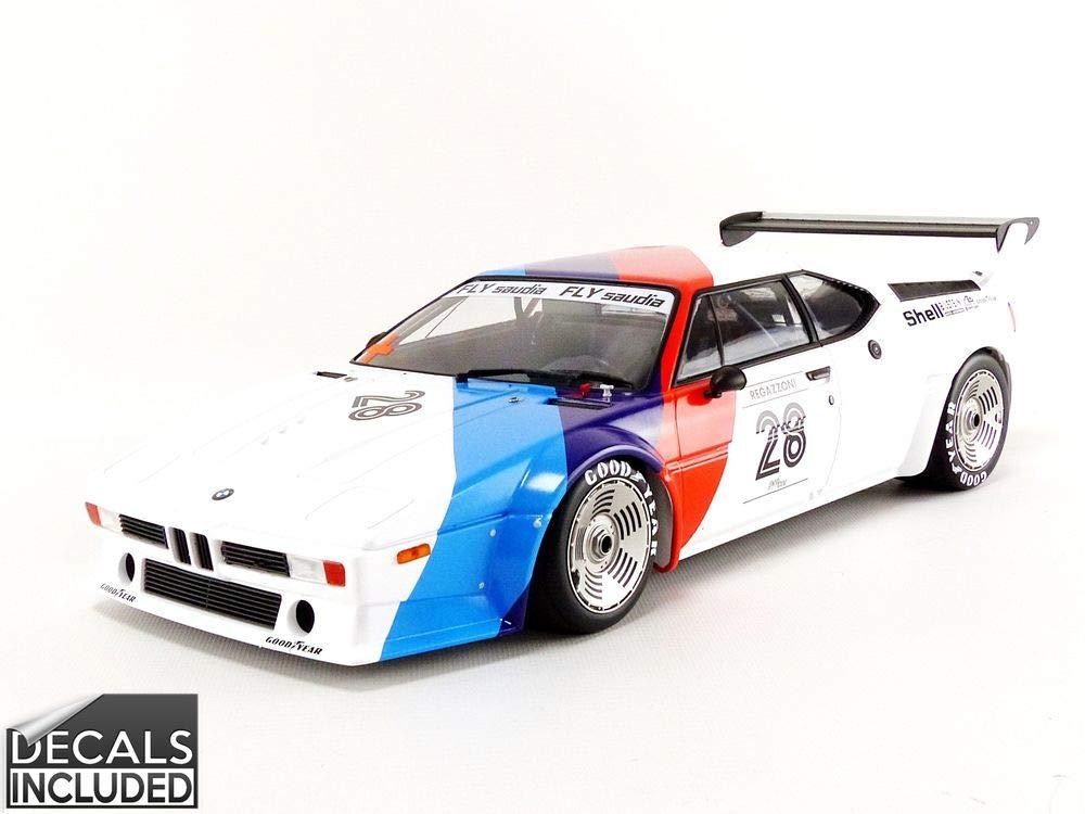 Minichamps 125792928 1:12 M1 M1 M1 BMW Motorsport - Arcilla Regazzoni - Procar Series 1979, Multi 662035