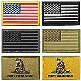 WZT Bundle 6 pieces american flag Tactical Military