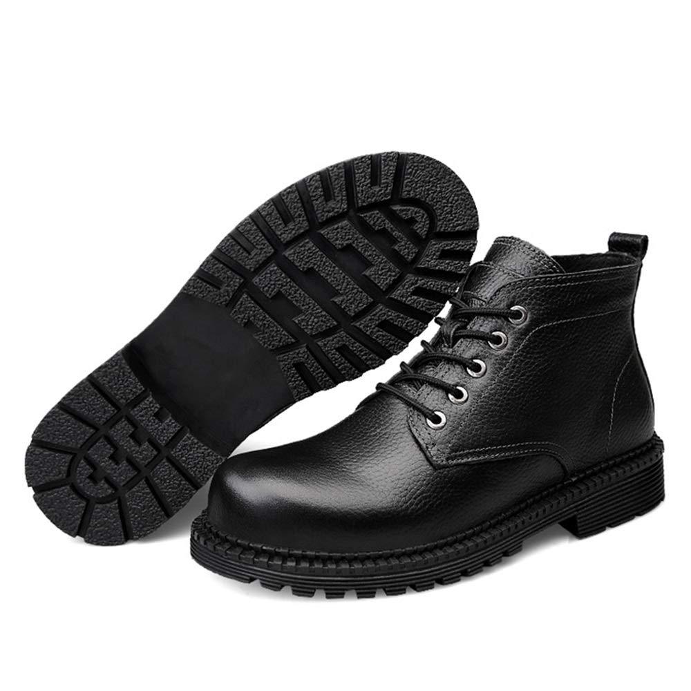 CHENJUAN Schuhe Herrenmode Ankle Work Stiefel Lässig Einfache Winter Faux Faux Faux Fleece Inside High Top Stiefel (konventionell optional) 424d0e