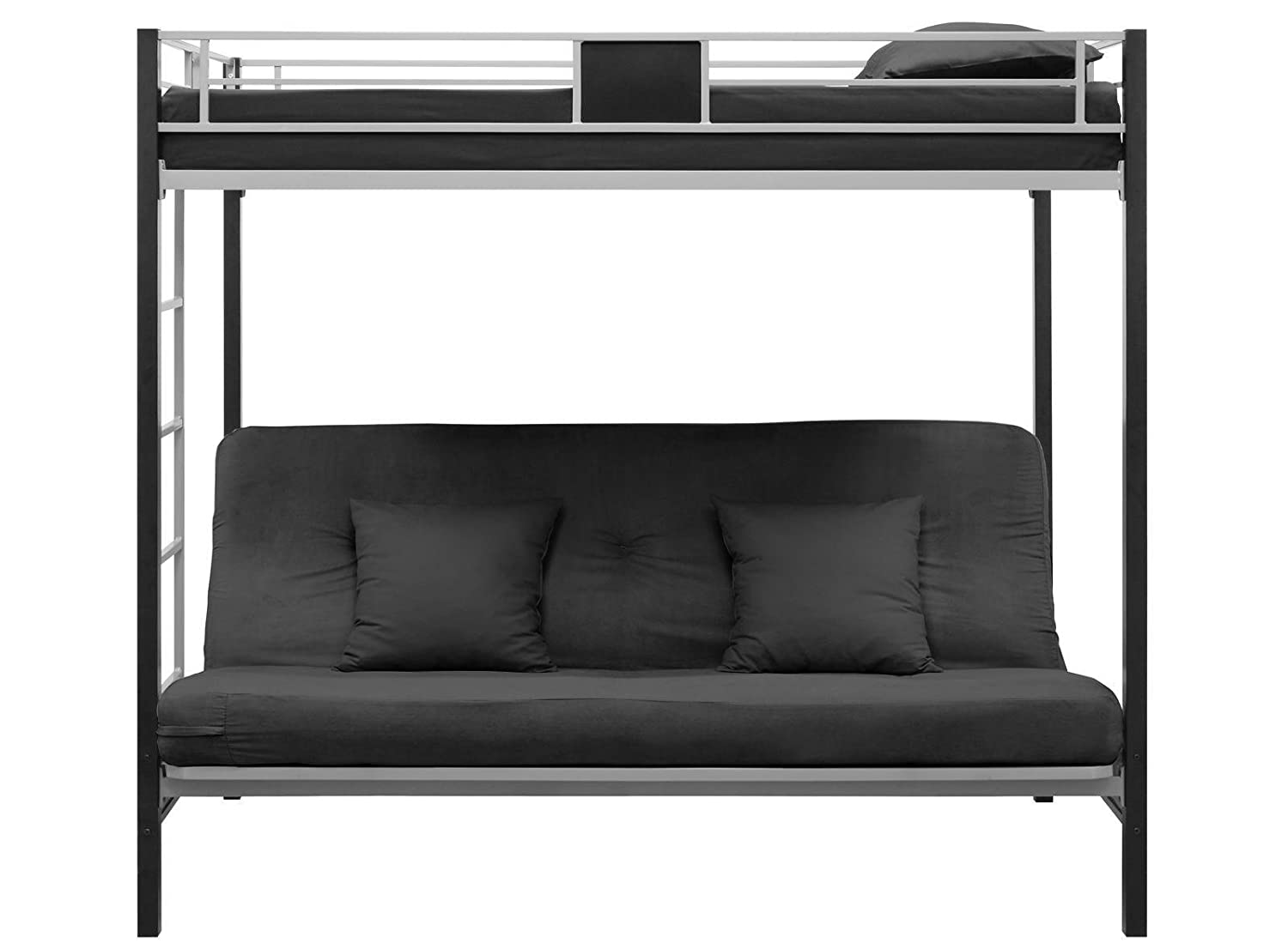 andrea dorel futon fortytwo black raw cor d futons home bed sofa furniture edited