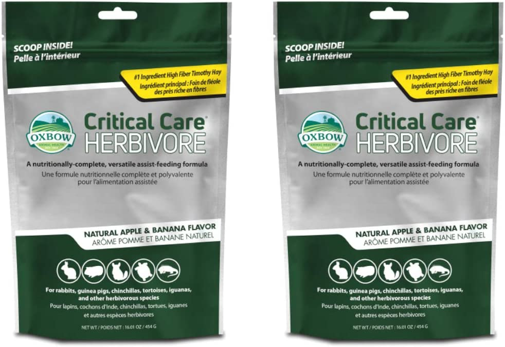 OxbOw Critical Care Apple/Banana Pet Supplement, 1-Pound