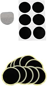 Perfk High-Grade Glueless Bicycle Inner Tire Fast Repair Tools Bike Rubber Patch