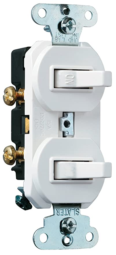 Legrand - Pass & Seymour 696WGCC6 Combination Grounding Single Pole ...