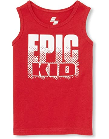 daac4a136c406 The Children s Place Boys  Big Graphic Tank Tops