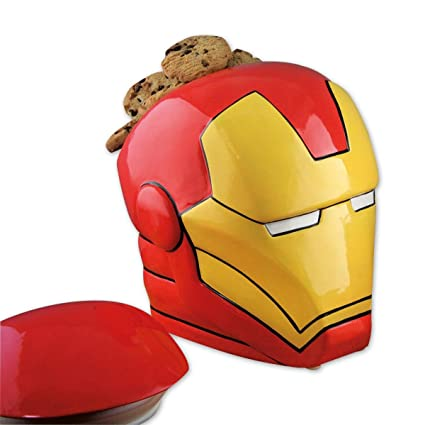 "Galletera Marvel Avengers ""Casco de Iron ..."