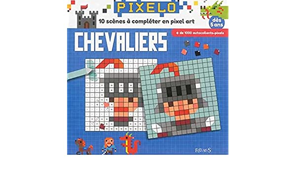 Mes Tableaux En Pixel Art Les Chevaliers Et Les Dragons