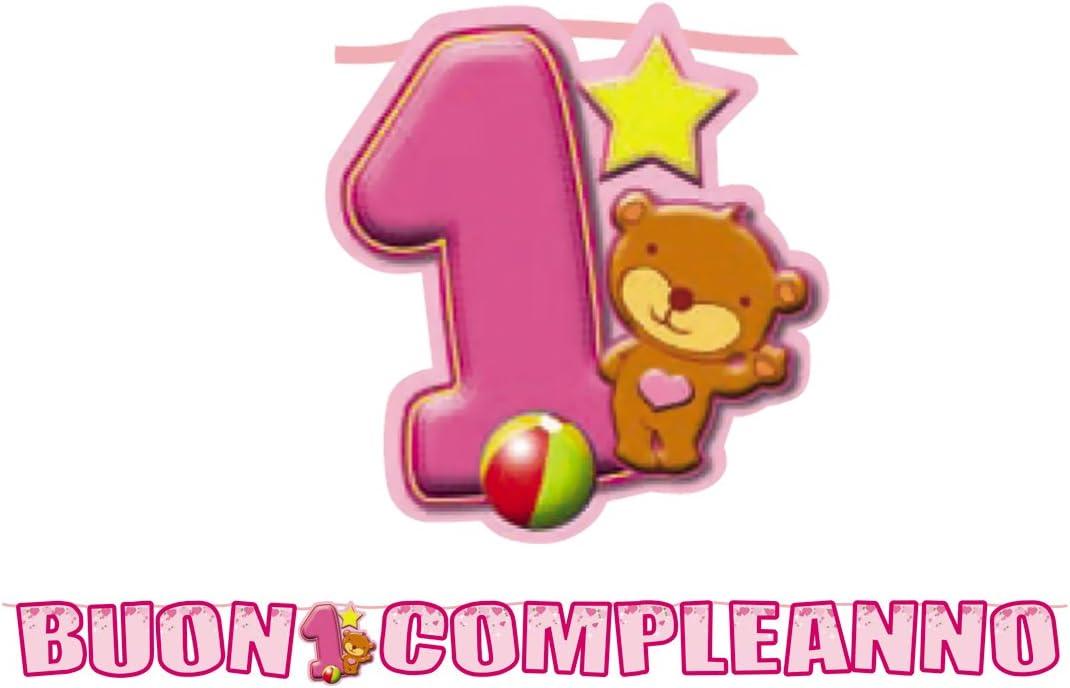 BiG Party - Kit de inscripción maxi 1° Compl. Toys rosa 6 m