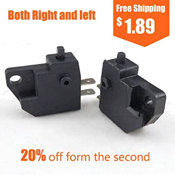 Right Brake Master Cylinder Mirror Mount 50 150 CC Moped Scooter JONWAY ZNEN GY6