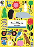 First Words: Art Charts: Learn 100 first words with 12 decorative prints to hang on your nursery wall (The Learning Garden)