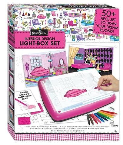 Interior Design Light Box Studio Set - Fashion Design Set