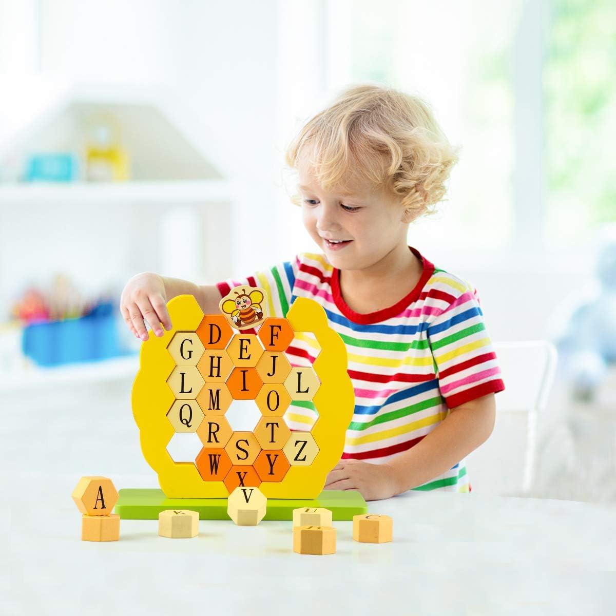 eradigital.com.vn Canuan Wooden ABC Building Blocks Montessori ...