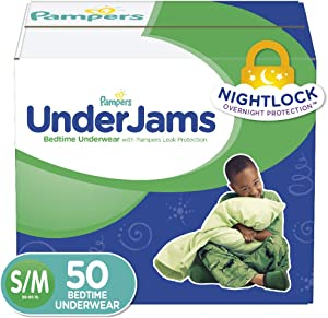 Pampers UnderJams Disposable Bedtime Underwear