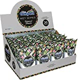 #5: Ultra Compact Personal Wet Wipes Travel Size 15ct Carnival Flowers Scent (Case of 36)