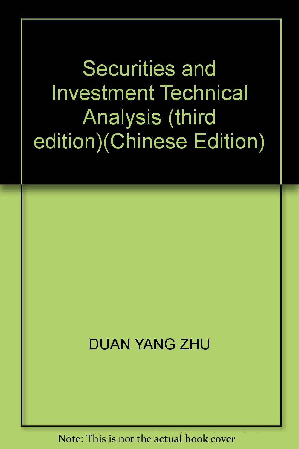 Download Securities and Investment Technical Analysis (third edition)(Chinese Edition) pdf
