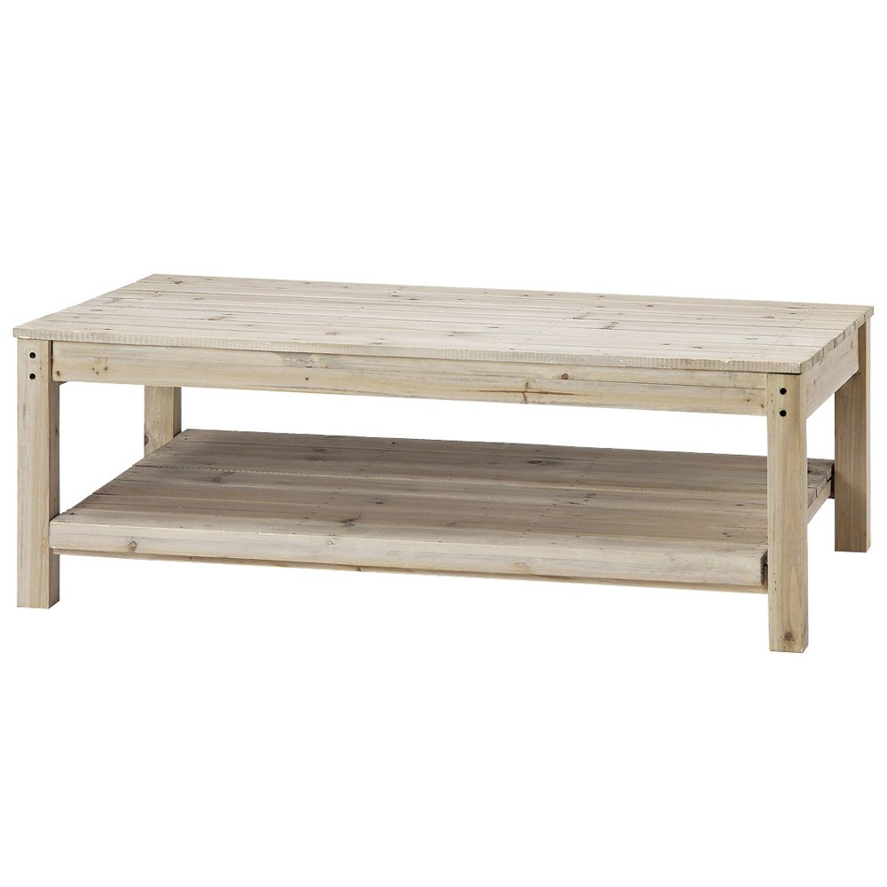 Paseo Recycle Wood Rect.Table WI-34 B00GWBX83M