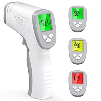 Non Contact Infrared Thermometer,Touchless Forehead Thermometer with OLED Display for Home,for Lighting