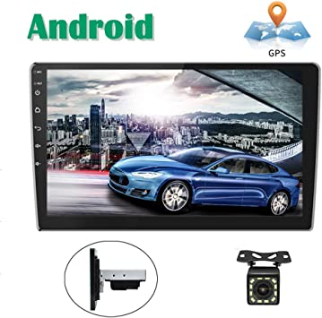 Android Coche Radio GPS CAMECHO 10 Pulgadas Pantalla táctil ...