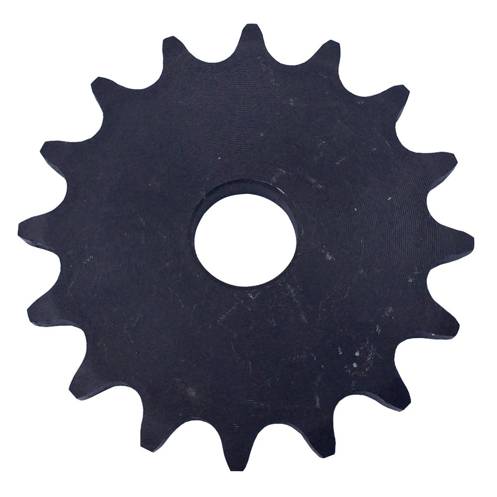 KOVPT # 40 Chain A-Plate Sprocket 24 Tooth Bore Dia 5/8' Pitch 0.5' OD 4.1' Carbon Steel 1Pcs KANZNAN
