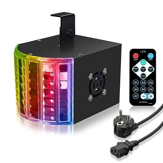 Wonderbaarlijk SOLMORE LED PAR Licht Disco Lichteffekte PA Licht RGB 3 Modus DMX KM-03