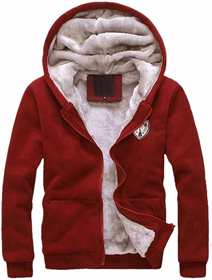 2PCS Hombres Abrigo chaqueta Conjunto, Yannerr invierno acolchado ...