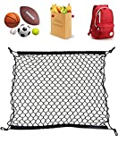 RayJrMALL Car Trunk Cargo Net Fit for BMW GMC Acadia Buick Enclave Chevy Traverse Chevrolet Equinox GMC Terrain Black