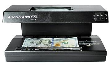 AccuBANKER D66 banquero Pro Detector de billetes falsos: Amazon.es: Oficina y papelería