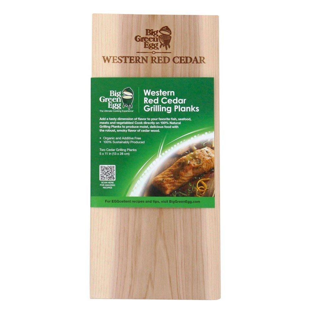 Big Green Egg Western Red Cedar - Natural Grilling Planks - 2 pack